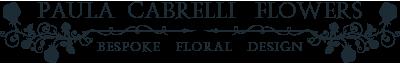 Paula Cabrelli Flowers Logo